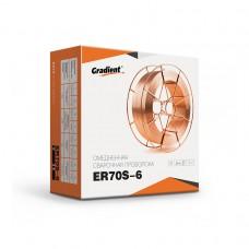 Проволока омедненная GRADIENT ER70S-6 Ø1,0 мм (15 кг)