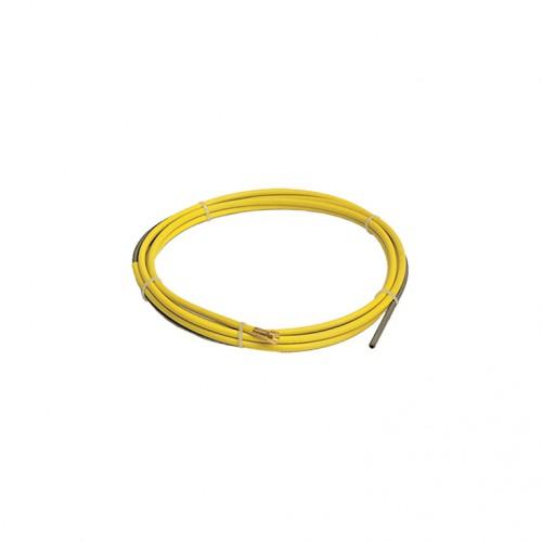 Спираль RHINO (Ø1,2-Ø1,6) 4,5 м желтая (сталь)
