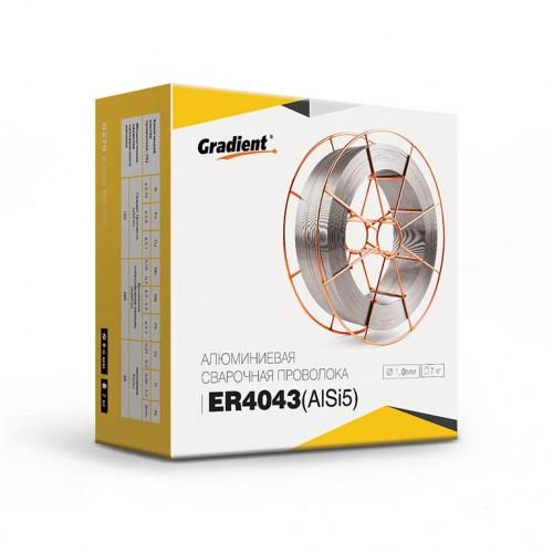 Проволока алюминиевая GRADIENT ER4043 Ø1,0 мм (7 кг) AlSi5