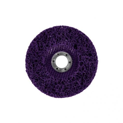 Круг зачистной GRADIENT коралл 125 мм (фиолетовый)