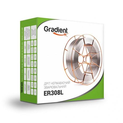 Проволока нержавеющая GRADIENT ER308L Ø1,2 мм (15 кг)