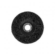 Круг зачистой GRADIENT коралл 125 мм (черный)