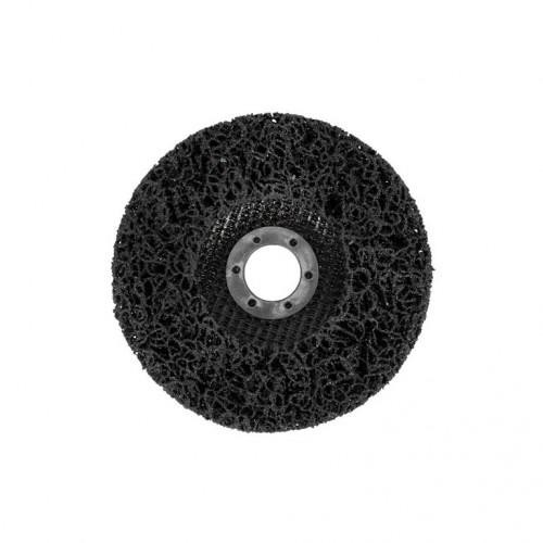 Круг зачистной GRADIENT коралл 125 мм (черный)