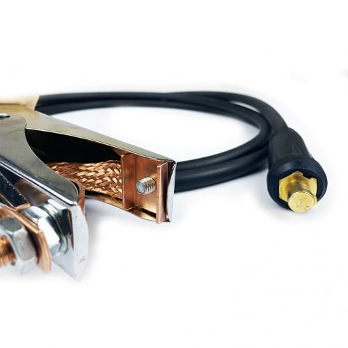 Сварочный кабель с зажимом массы 300A/16мм2/5м/10-25