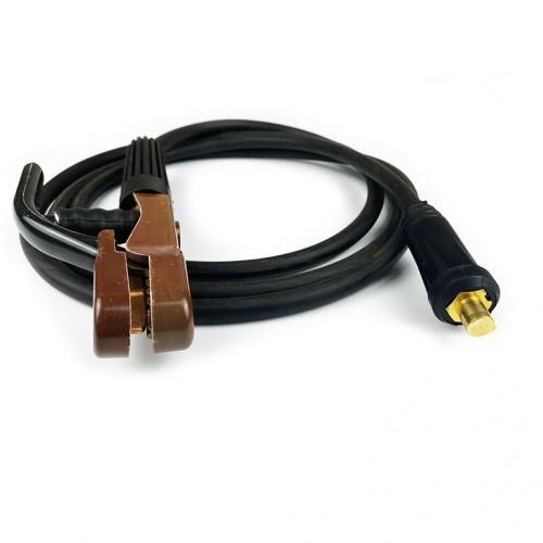 Сварочный кабель с электрододержателем 300A/16мм2/3м/10-25