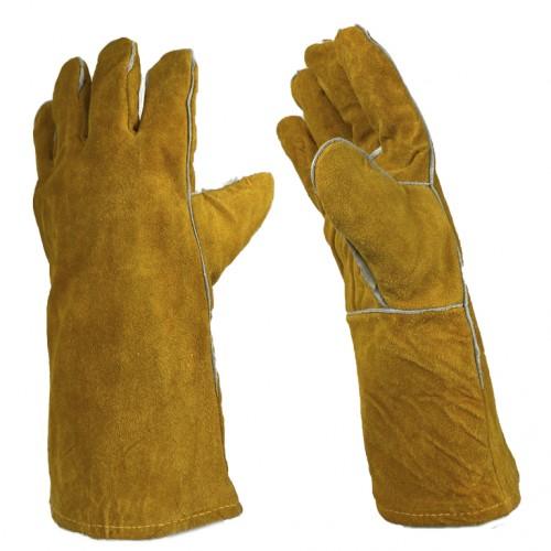 Перчатки сварщика с подкладкой