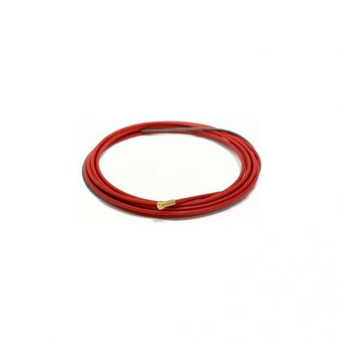 Спираль RHINO (Ø1,0-Ø1,2) 4,5 м красная (PTFE)