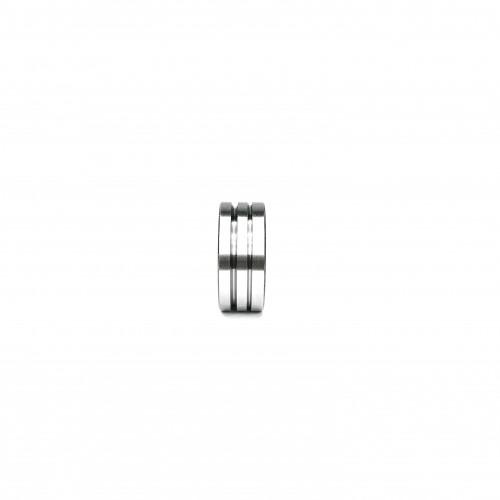 Ролик подачи проволоки RHINO 30х10х12, Ø1,2/1,6 (V-канавка) с  насечками